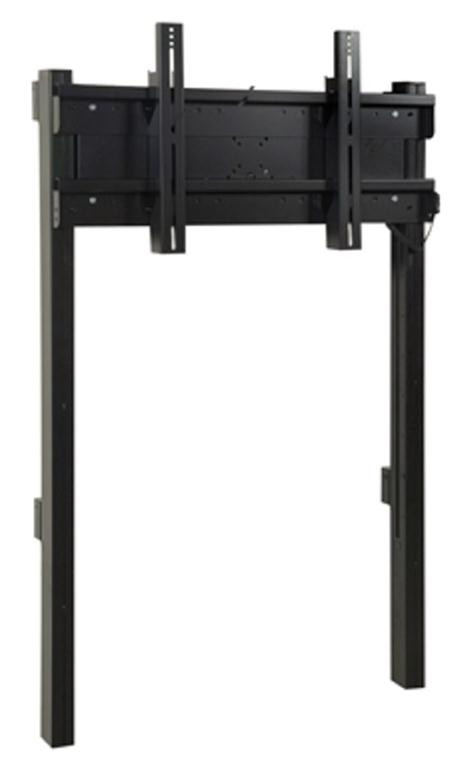Loxit Hi-Lo Screen Lift Wall Electric Plasma Wall Mount for Screens Upto 65-inch or 100kg (Black)
