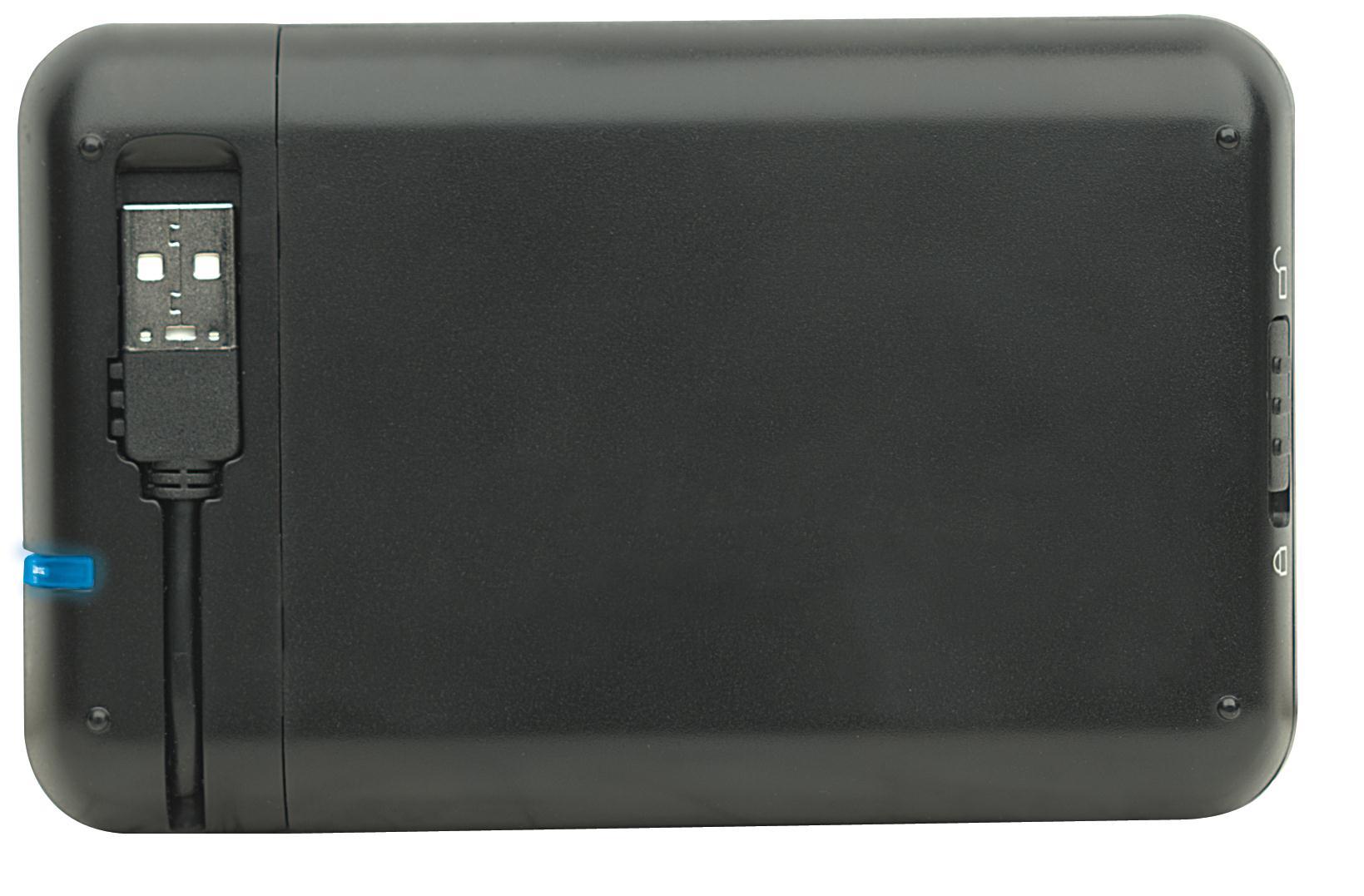 Manhattan Drive Enclosure 2.5 inch USB 2.0 (Black)