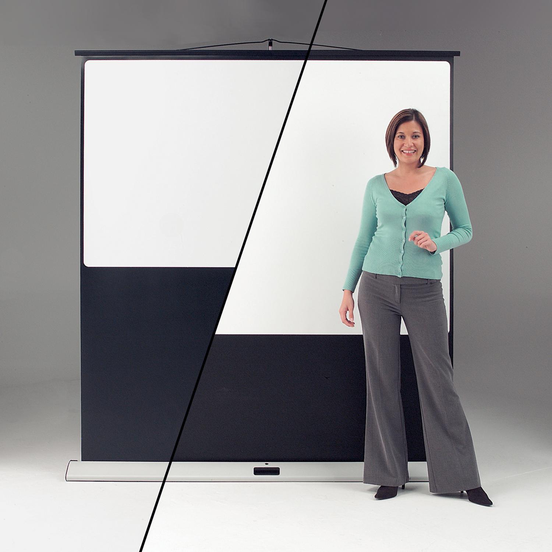 Metroplan Eyeline (900mm x 1600mm) Widescreen 16:9 Movielux Floor Projection Screen (White)