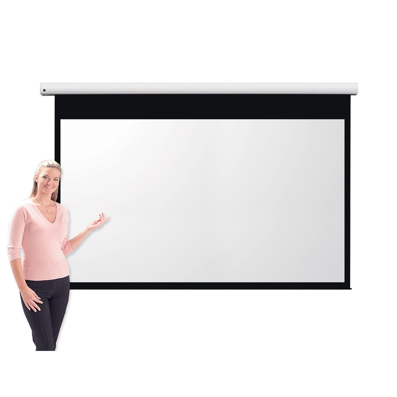 Metroplan Eyeline (1320mm x 2340mm) Widescreen 16:9 Pro Channel Fix Electric Projection Screen (White)