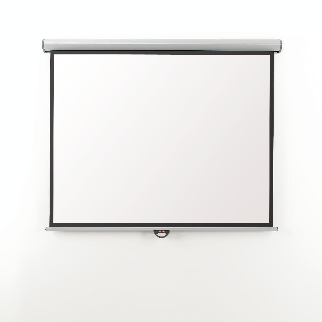Metroplan Eyeline (1200mmx1600mm) Video 4:3 Design Manual Projection Screen (White)