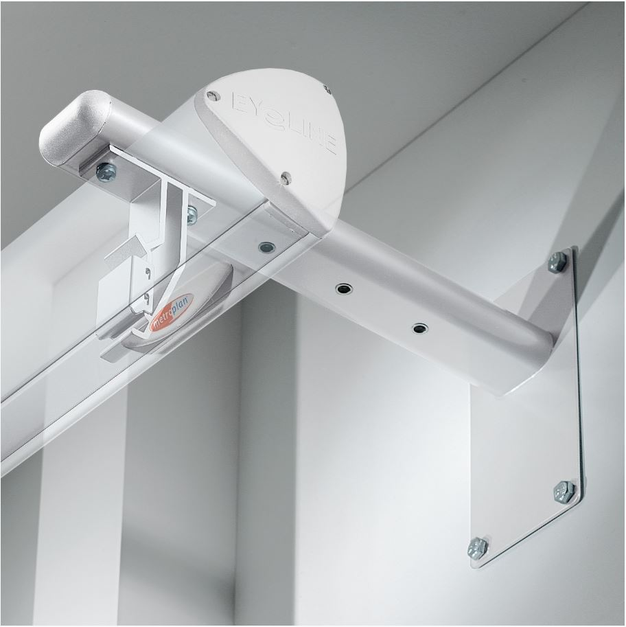 Metroplan Eyeline Design (350mm) Extension Bracket For Electric Screens (White)