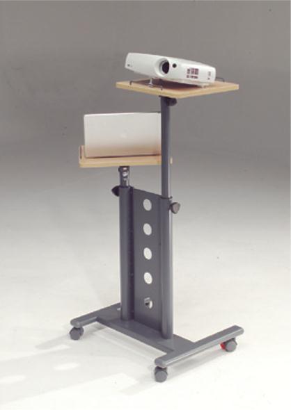 Metroplan Secure Multi-Media Mobile Projector Trolley (Grey/Beech)