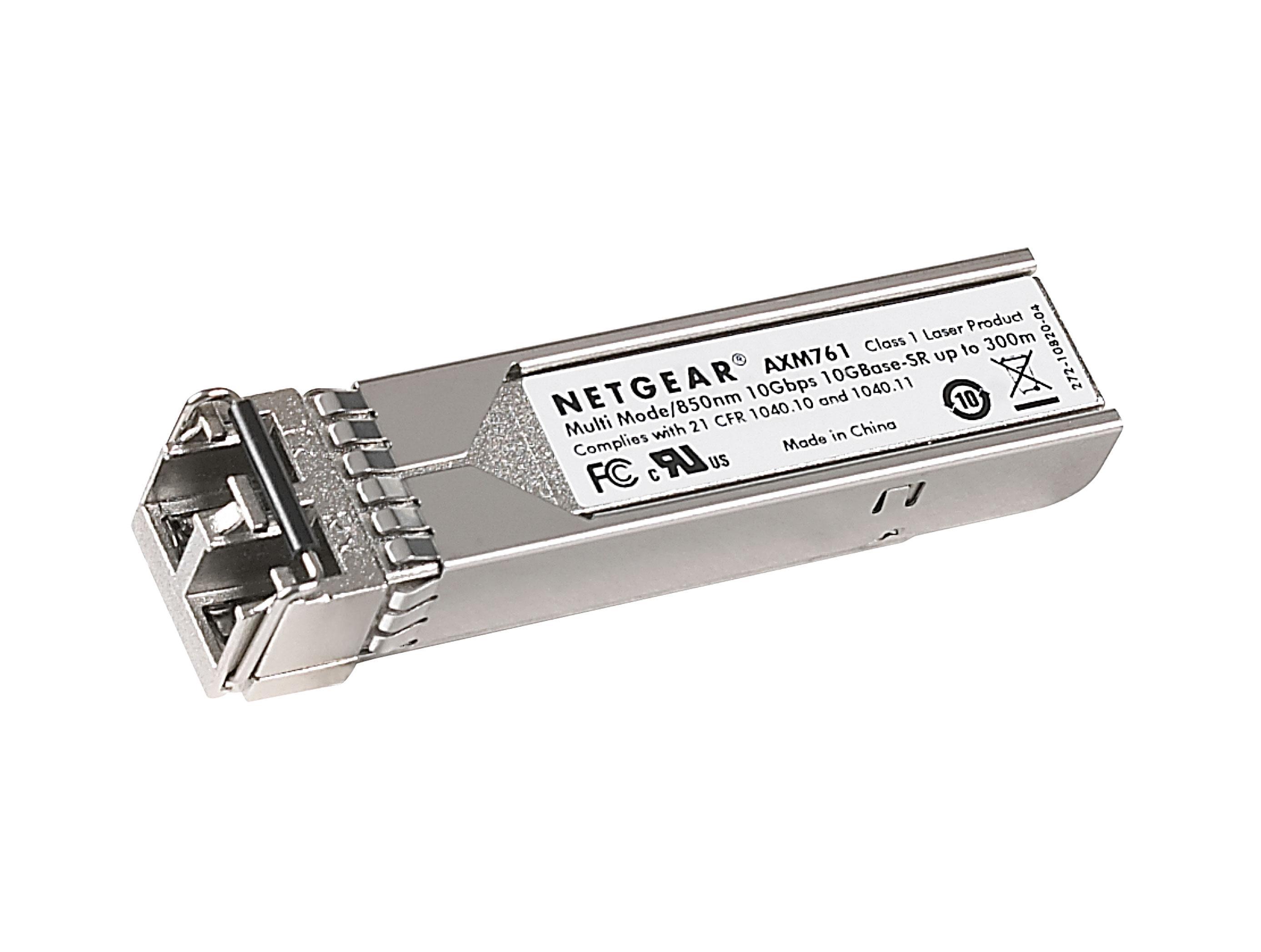 Netgear AXM761 ProSafe 10GBASE-SR SFP + LC GBIC (Pack 10)