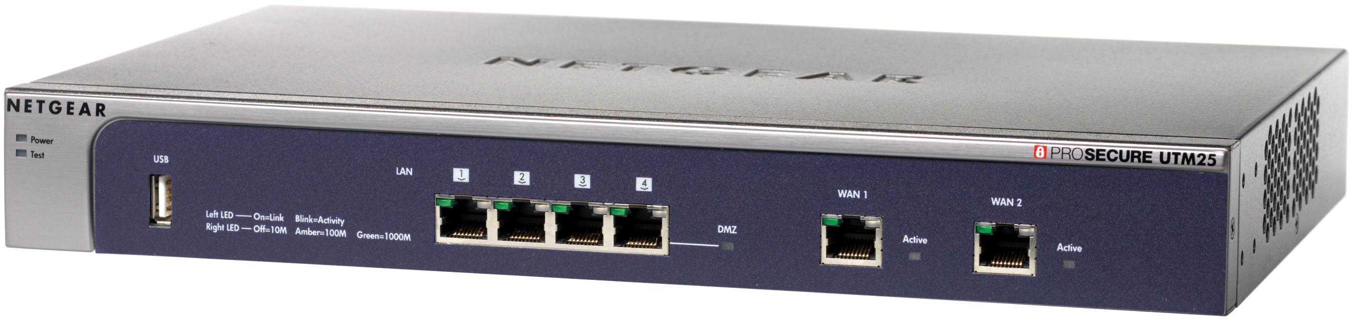 Netgear ProSecure UTM25s VDSL Kit Appliance with VDSL A Bundle 1 Year (Licence Only)