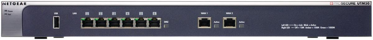 Netgear Prosecure UTM50 Appliance - No Subscriptions Included - Firewall Only