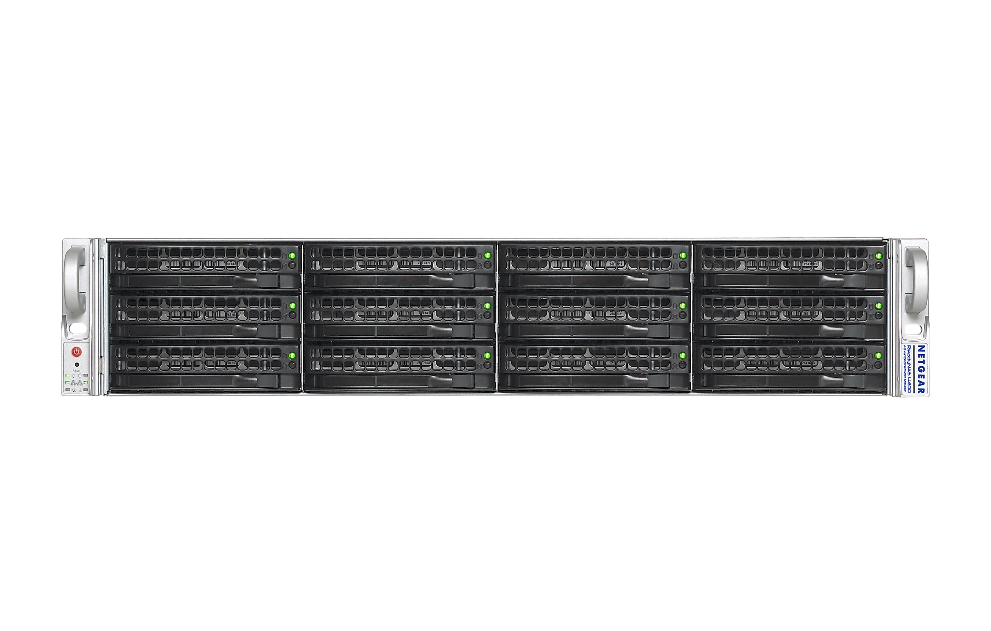 Netgear ReadyDATA 5200 (Diskless) Hard Drive 12 Bay 2U Network Storage System