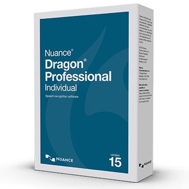 Nuance Dragon Professional Individual 15, UK English Full Non VAR