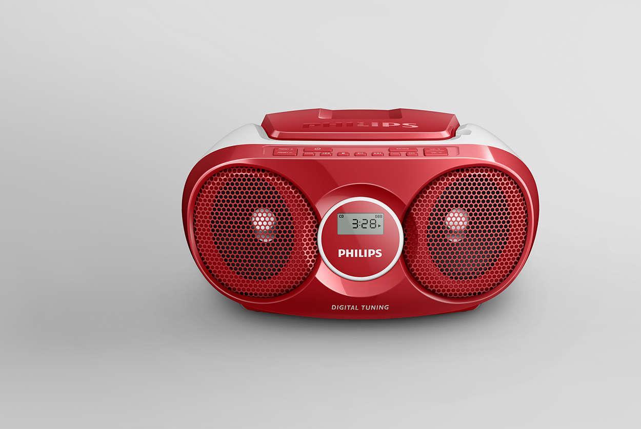 Philips Digital CD Soundmachine (Silver)