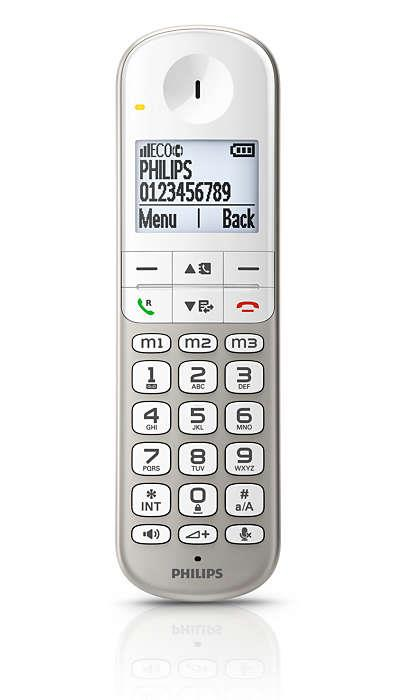 Philips Cordless Phone XL4951S (1 Handset) With Answer Machine