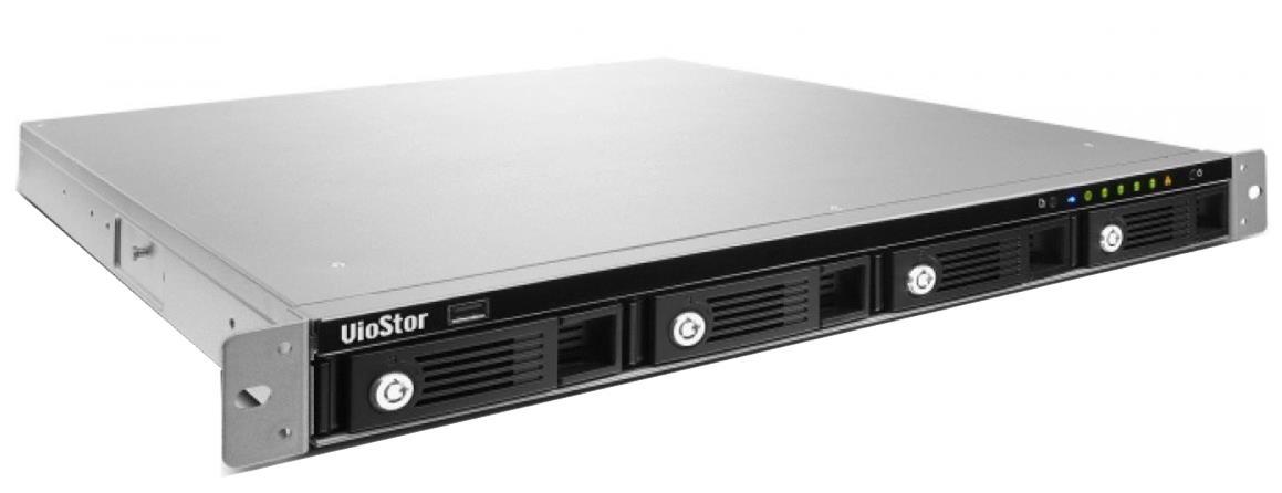 QNAP VS-4108U-RP Pro+ Rack (4-Bay) Network Video Recorder Intel Dual-Core 4GB 8-Channel (Black) - EU