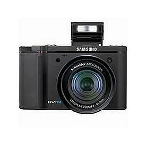 Samsung NV7 Digital Camera 7.2 MP 7x Optical Zoom 2.5 inch Colour LCD Screen (Black)