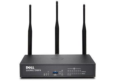 SonicWALL TZ400 Wireless Access Point International Gigabit Ethernet Firewall (Black)
