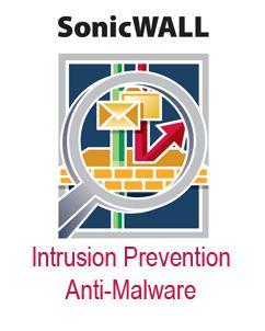SonicWALL Anti-Malware & Intrusion Prevention For SuperMassive E10200 Series (1 Year Subscription)