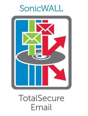 SonicWALL TotalSecure (500 Users) Email Service (3 Years Subscription)