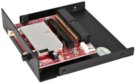 StarTech.com 3.5 inch Drive Bay IDE to Single CF SSD Adaptor Card Reader