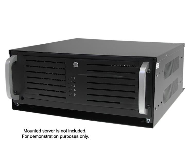 StarTech.com 4U 19 inch Steel Horizontal Wall Mountable Server Rack