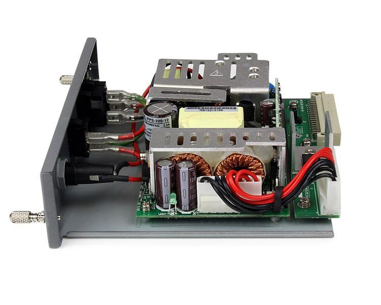 StarTech.com Redundant 200W Media Converter Chassis Power Supply Module for ETCHS2U