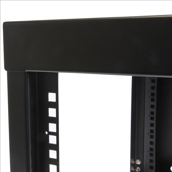 StarTech.com 6U 22 inch Depth Hinged Open Frame Wall Mount Server Rack