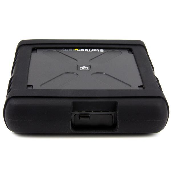 StarTech.com Rugged Hard Drive Enclosure - USB 3.0 To 2.5 inch SATA 6 Gbps HDD or SSD - UASP