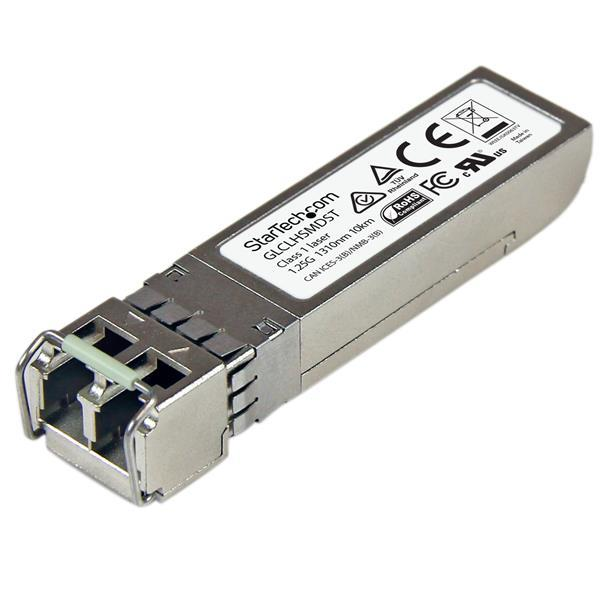 StarTech.com Gigabit Fiber SFP Transceiver Module 1000Base-LX/LH, SM/MM LC, Cisco GLC-LH-SMD Compatible (10km) Pack of 10