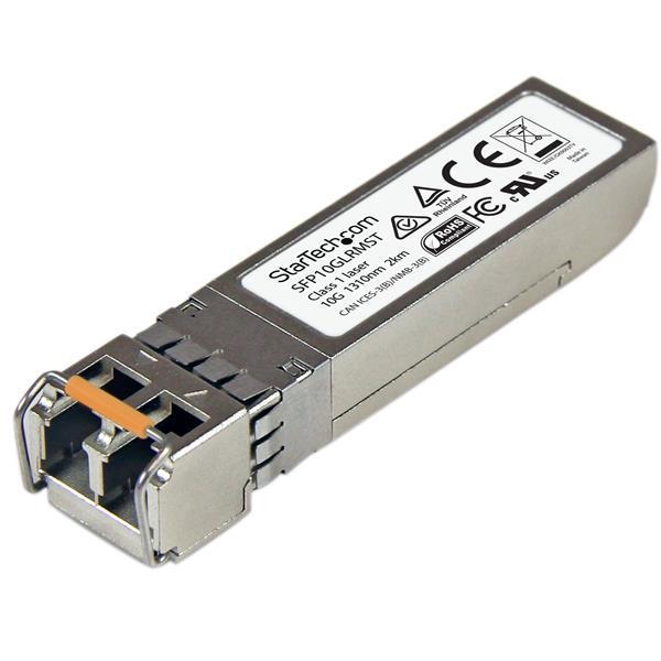 StarTech.com 10 Gigabit Fiber SFP+ Transceiver Module 10GBase-LRM, MM LC, Cisco SFP-10G-LRM Compatible (220m)