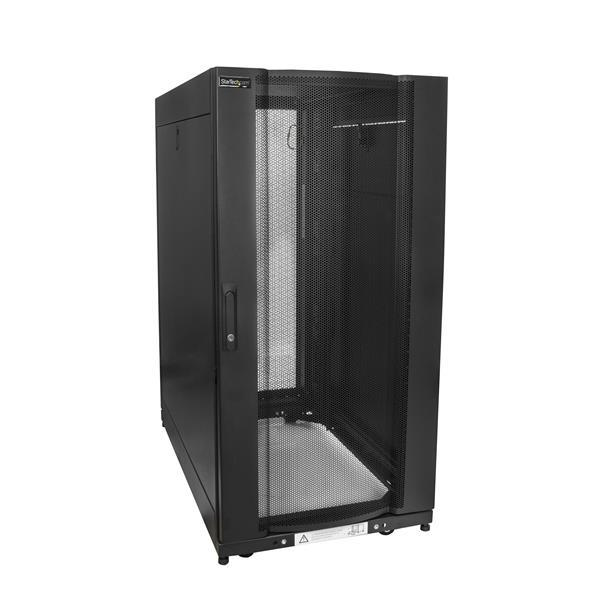 StarTech.com Server Rack Cabinet - 37 inch Deep Enclosure - 25U