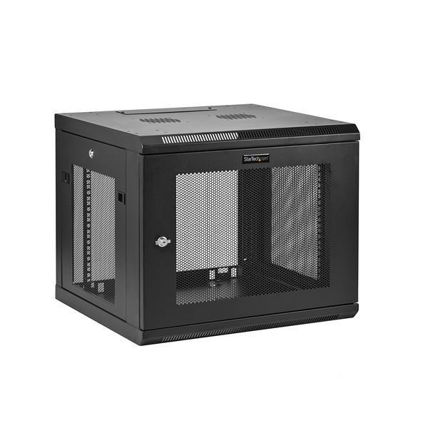 StarTech.com Server Rack Wall-Mount Cabinet - 20.8 inch Deep Enclosure - 9U