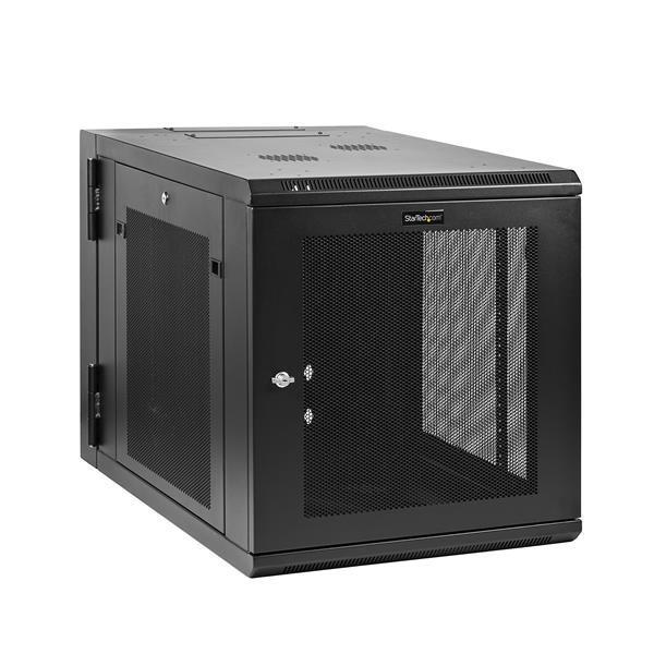 StarTech.com Server Rack Wall-Mount Cabinet Enclosure - 32 inch Deep Hinged - 12U