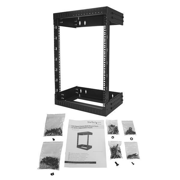 StarTech.com Server Rack Open Frame Wall-Mount 20 inch Deep - 15U
