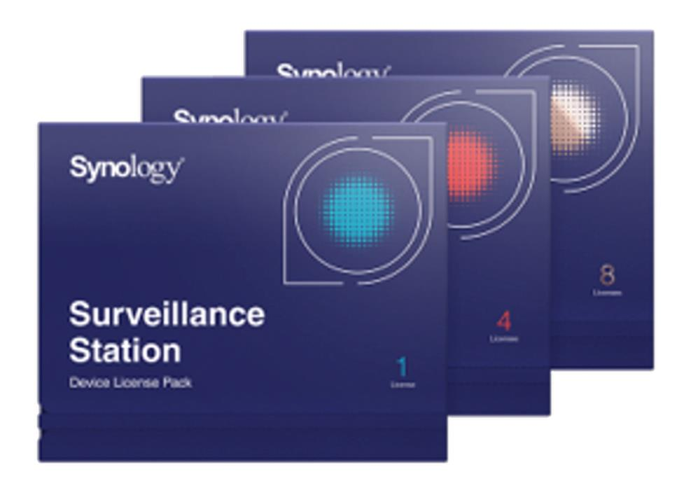 Synology Surveillance Device Licence Pack (8 x Camera) for Synology DiskStation
