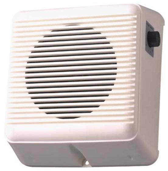 TOA White Wall Mount Speaker 6 Watt 100V + V/C (White)