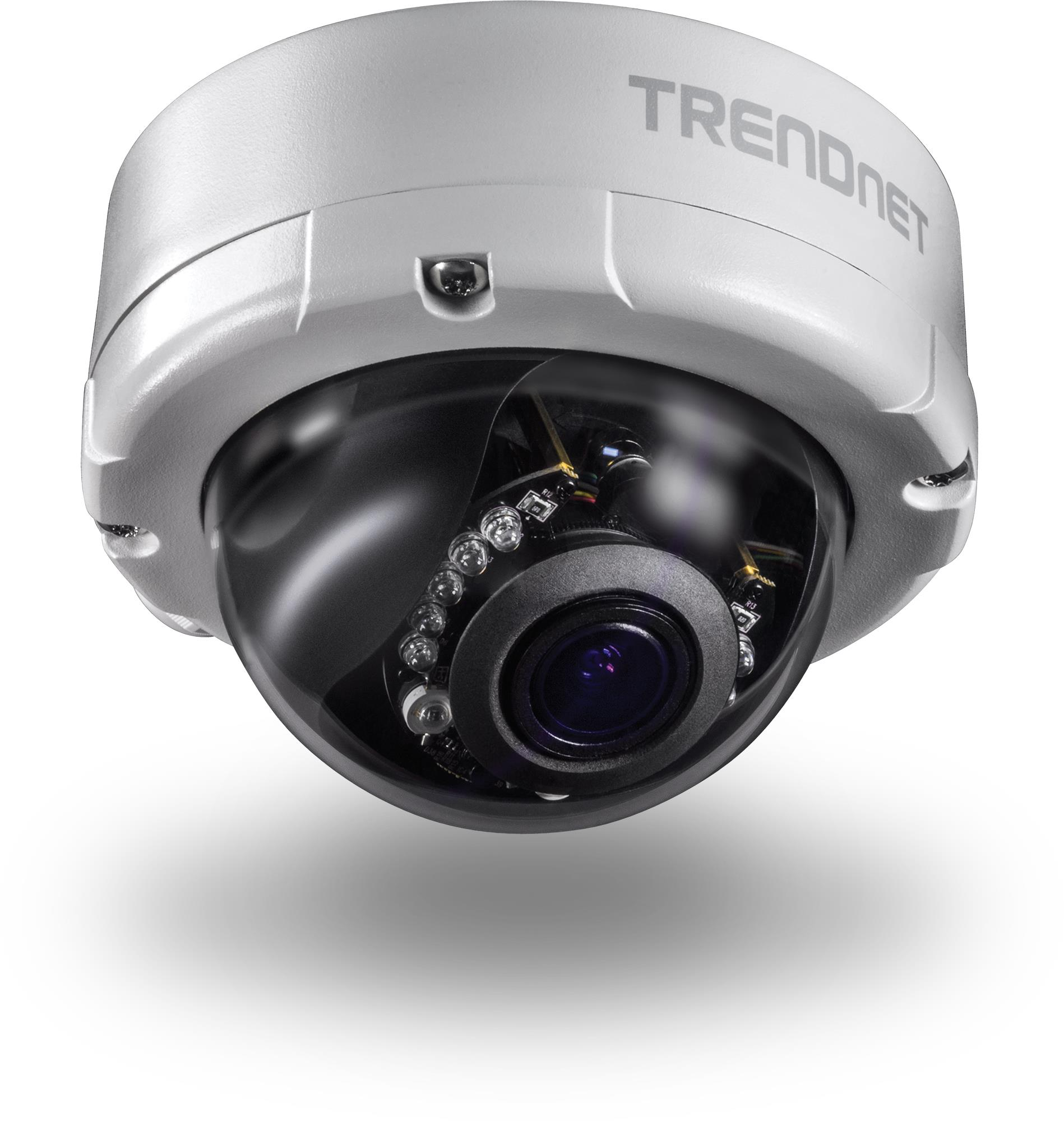 TRENDnet TV-IP345PI (4MP) Network Camera Dome Vari-Focal PoE Day/Night Indoor/Outdoor Silver (V1.0R)