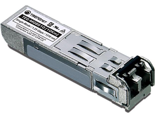 TRENDnet TEG-MGBS10 Mini-GBIC Single-Mode LC Module (10km)
