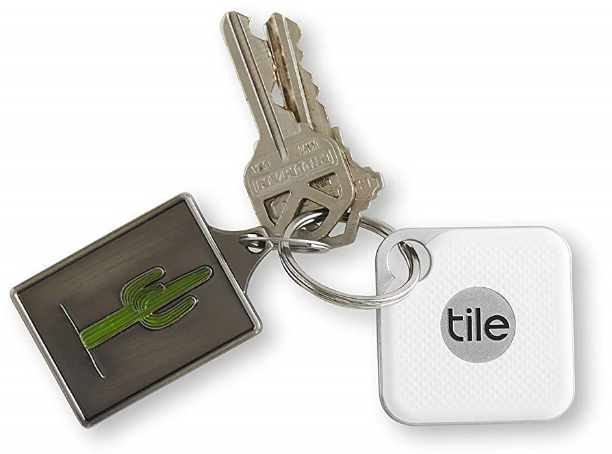 Tile Pro 2018 Bluetooth Tracker (Item Finder) Black and White - 2 Pack