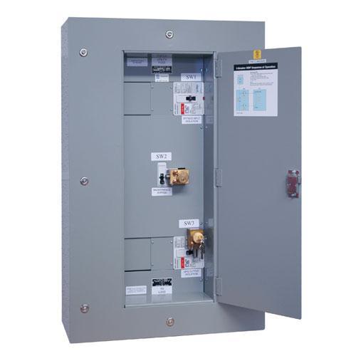 Tripp Lite 3 Breaker Maintenance Bypass Panel for SU60KX/SU60KTV UPS