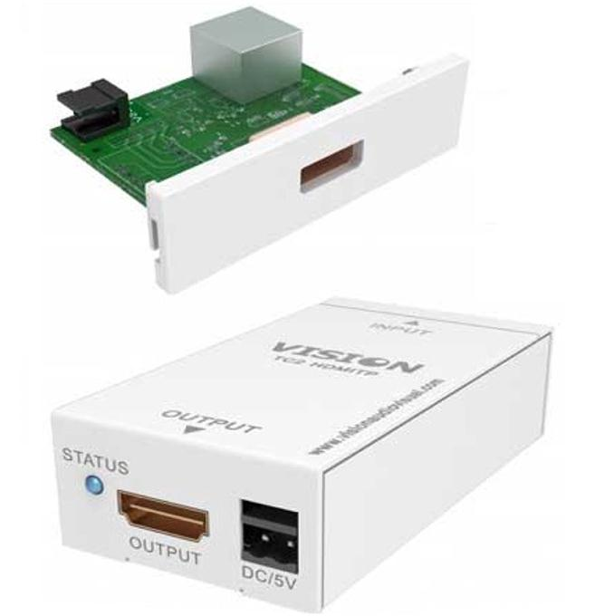Vision Techconnect TC2 HDMITP HDMI-over-Twisted Pair Transmitter and Receiver Set