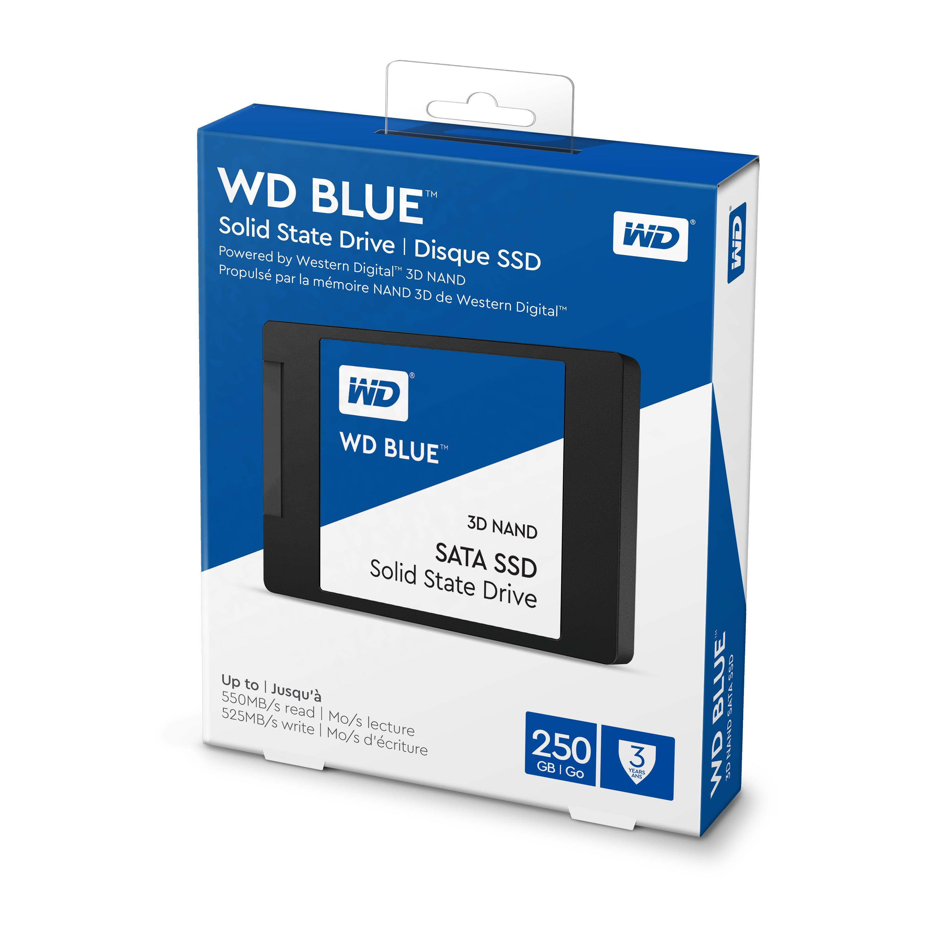 WD Blue (250GB) 3D NAND SATA 2.5 inch Solid State Drive