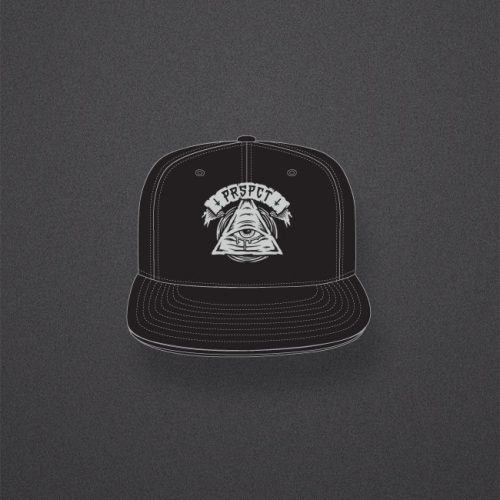 Snapback 'All Seeing Eye' Grey Logo