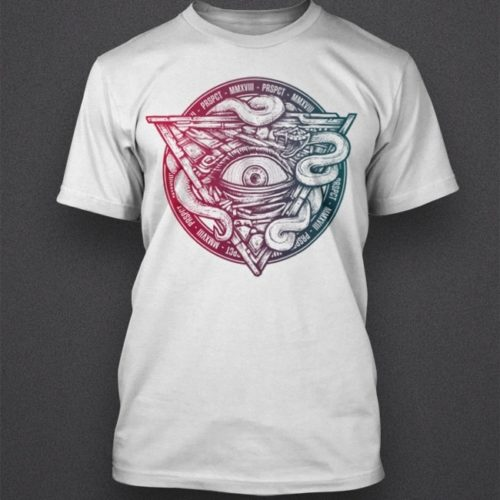 Shirt 'All Seeing Eye Summer'