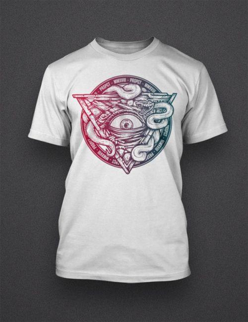 Shirt 'All Seeing Eye Summer'