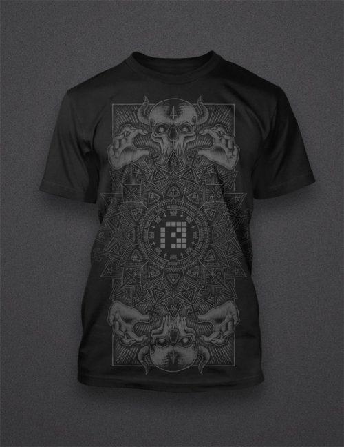 Shirt 'Mandala'