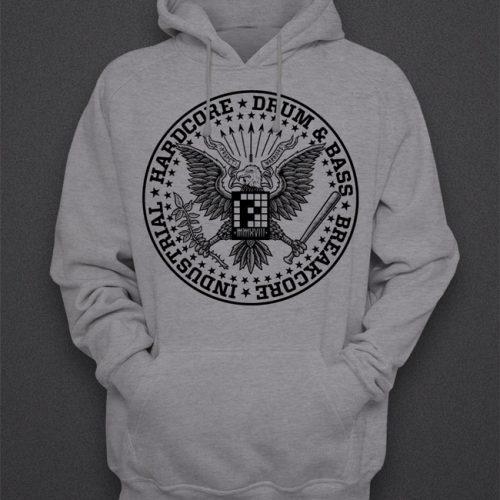 Hoodie  'Ramones' Grey