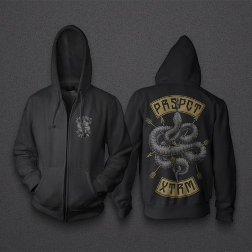 Zip Up Hoodie 'Snake Eyes'