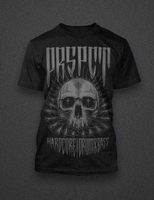 "Shirt ""Skull Web"""