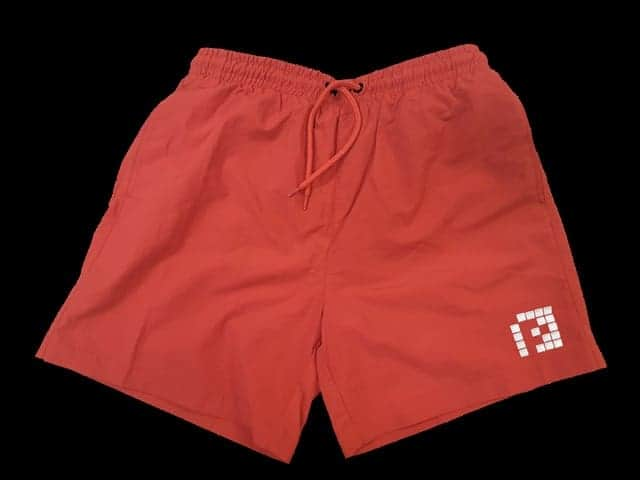 072eb94fa5 Red Swim Shorts White