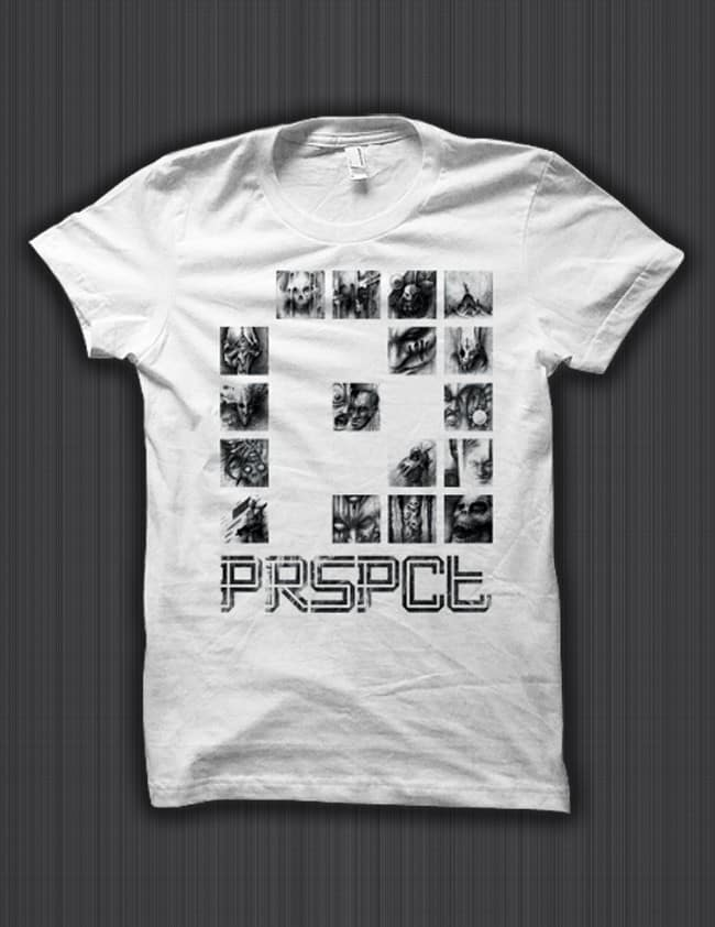 PRSPCTSH54-Shirt-'The-Nightmare-Connector'-P—White