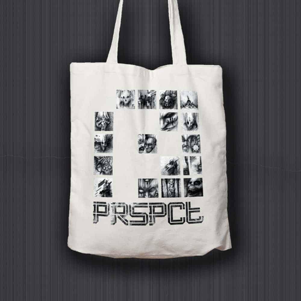 PRSPCTTOTE01-Tote-Bag-'The-Nightmare-Connector'-P—White