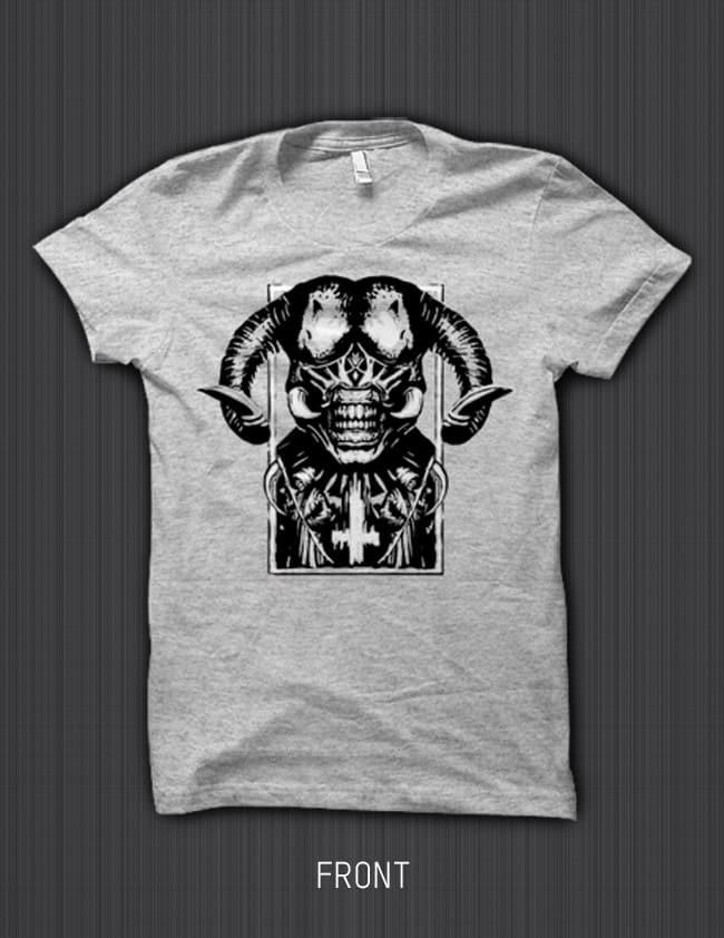 PRSPCT-Shirt-The-Satan—Grey—Front