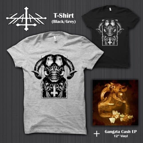 PRSPCTXTRM048LTD - Gangzta Cash EP & T-Shirt 'The Satan'